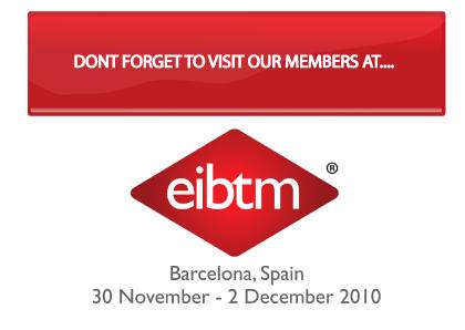 Uniqueworld International Hotels & DMCs exhibit at EIBTM