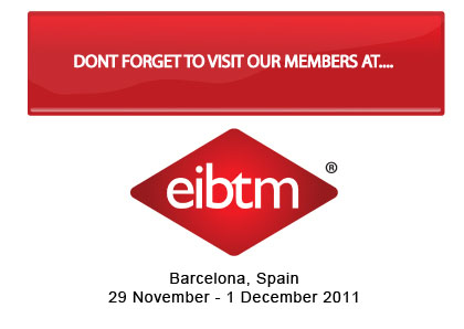EIBTM, the Global Meetings and Events Exhibition – Book Your DMC and Hotel Appointment Now