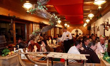 hornboden restaurant inside