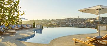 yeatman hotel rooftop swimming pool, porto
