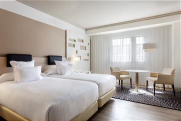 premium room mariott madrid