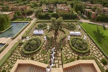 marrakech hotel venues garden mandarin