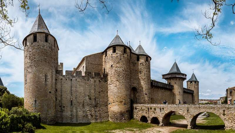 The Count's Castle in Carcassonne