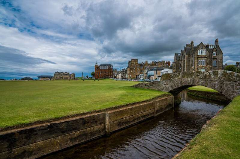 A view of St Andrews