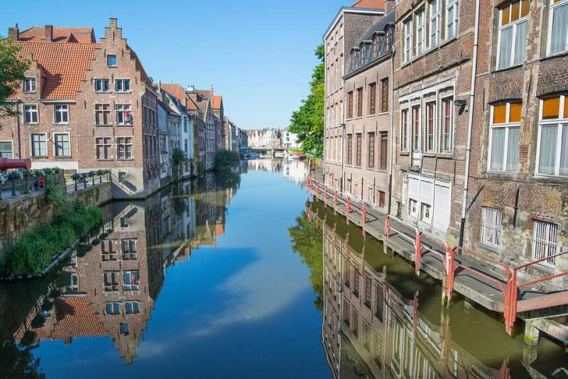 Canals in Ghent