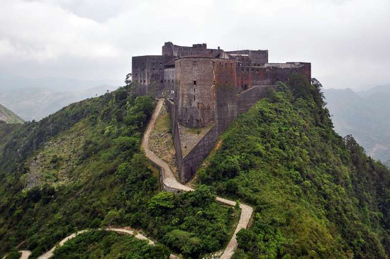 The Citadelle La Ferriere in Haiti