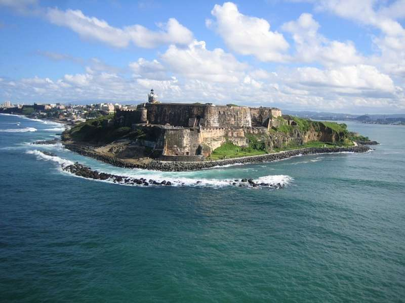 The Castillo San Felipe del Morro in Puerto Rico