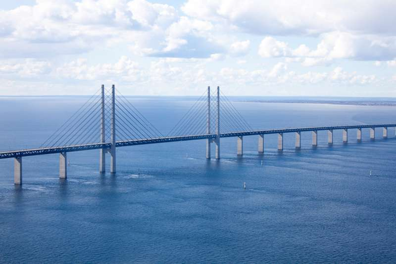 The Oresund Bridge - Malmo