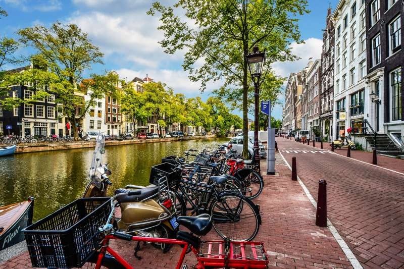 Amsterdam Street Canal