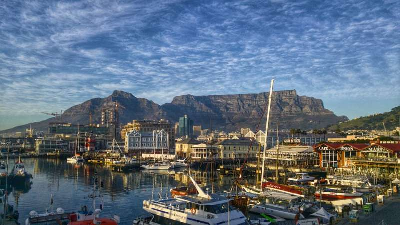 Capetown and the glorious Table Mountain