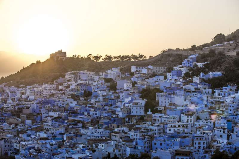 Blue City - Morocco