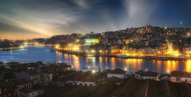 Night in Porto